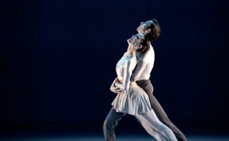 Hayley Blackburn and Silas Stubbs in Double Concerto