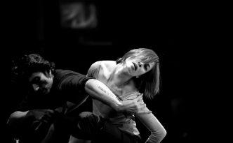 Maria Yakovleva and Eno Peci rehearsing for Opus Nr. 25