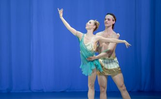 Tarasina Masi and Alain Divoux in La Esmeralda, Diana and Actaeon