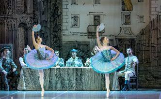 Anna Skvortsova and Nana Kurauchi as Flower Girls in Don Quixote