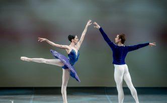 Victoria Tereshkina and Artem Ovcharenko in Grand pas Classique