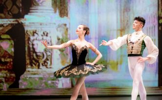 Anna Ol and Joseph Gatti in Esmeralda pdd