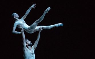Maria Kochetkova and Sebastian Kloborg in the At The End of The Day