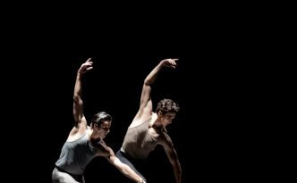 Marcelo Gomes and Thomas Forster in Ami