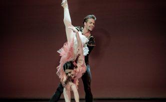 Ksenia Ryzhkova and Matthew Golding in Don Quixote Pas de deux