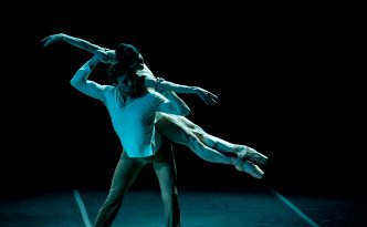 Anna Tsygankova and James Stout in On the nature of daylight