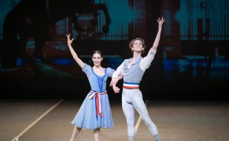 Katja Khaniukova and Julian MacKay in Flames of Paris