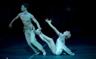 Kristina Kornová, Patrik Holeček, Lullaby, Radu Poklitaru, Russian Ballet Icons Gala 2019, Coliseum Theatre