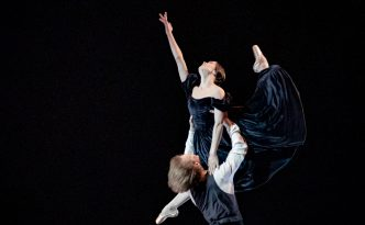 Amandine Albisson and Edvin Revazov in The Lady of the Camellias