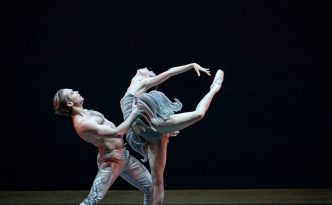 Ana Turazashvili and Mikhail Lobukhin in Come un Respiro