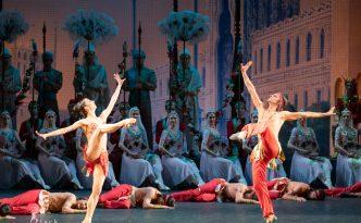 Victoria Zaripova, Alexander Omar and Nikolay Arzyayev in Indian Dance