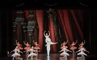 Evgeniya Victory Gonzalez and Nikita Kirbitov in Grand Pas from Paquita