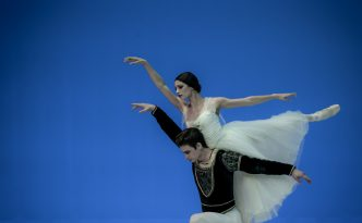 Lillian DiPiazza and Sterling Baca in Giselle