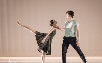 Lillian DiPiazza and Sterling Baca in Switch