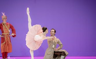 Marianela Nunez in Rose adagio from The Sleeping Beauty