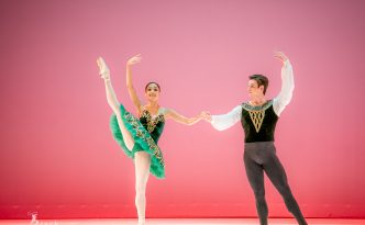 Nayara Lopes and Sterling Baca in Esmeralda