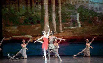 Anastasia Limenko and Osiel Gouneo in Esmeralda