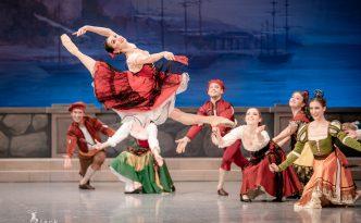Olga Chelpanova Kitri in Don Quixote act 1