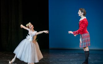 Iana Salenko and Dinu Tamazlacaru in La Sylphide