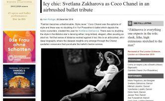 Coco Chanel, Svetlana Zakharova, MuzArts, Bachtrack