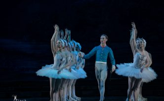 Aeden William Conefrey, debut, Prince Siegfried, Swan Lake
