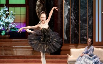 Annija Kopštāle (debut) as Odile in Swan Lake
